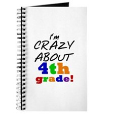 Crazy About 4th Grade Journal