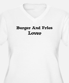 Burger And Fries lover T-Shirt