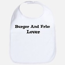 Burger And Fries lover Bib