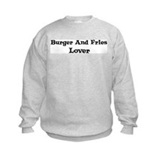 Burger And Fries lover Sweatshirt