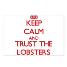 Keep calm and Trust the Lobsters Postcards (Packag