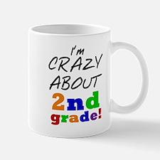 Crazy About 2nd Grade Mug