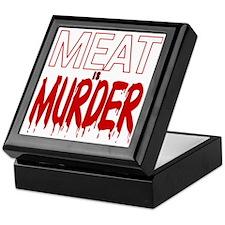 MEAT IS MURDER (BLOODY) Keepsake Box