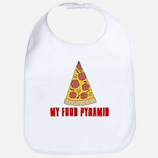 My Food Pyramid Bib