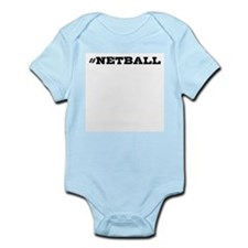 Netball Hashtag Body Suit