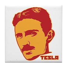 Nikola Tesla Tile Coaster