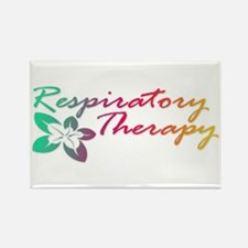 Respiratory Therapy Rectangle Magnet
