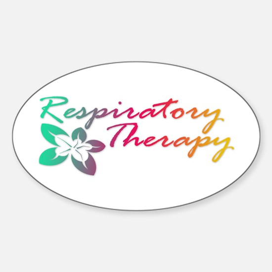 Respiratory Therapy Oval Bumper Stickers