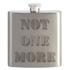 Not One More Flask