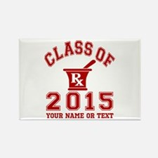 Class Of 2015 Pharmacy Rectangle Magnet (100 pack)