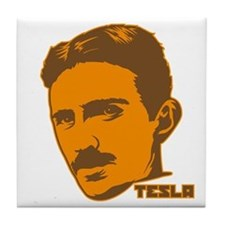 Unique Tesla coil Tile Coaster