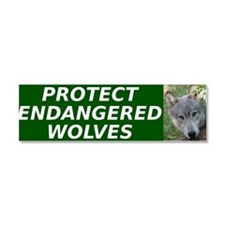 Cute Animal protection Car Magnet 10 x 3