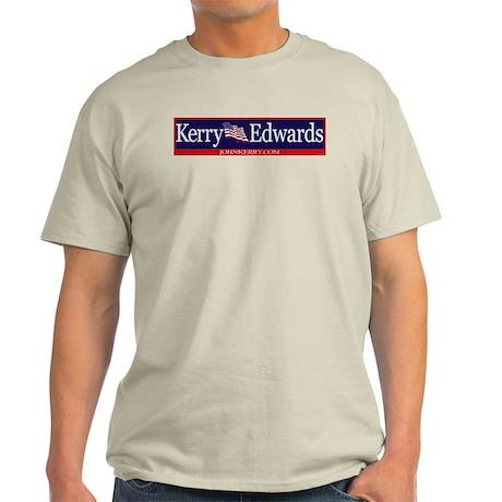 John Kerry - John Edwards Ash Grey T-Shirt