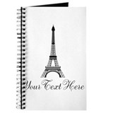 Eiffel tower Journals & Spiral Notebooks