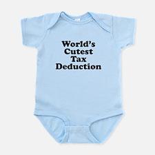 Worlds Cutest Tax Deduction Body Suit