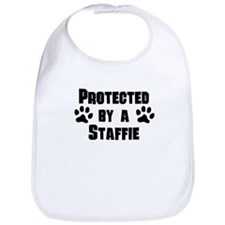 Protected By A Staffie Bib