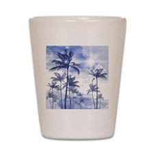 Palm Trees Shot Glass