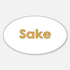 Sake Decal