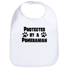 Protected By A Pomeranian Bib