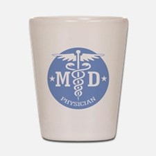 Caduceus MD (rd) Shot Glass
