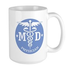 Caduceus MD (rd) Mugs
