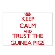 Keep calm and Trust the Guinea Pigs Postcards (Pac