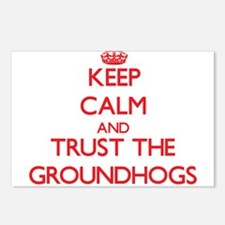 Keep calm and Trust the Groundhogs Postcards (Pack