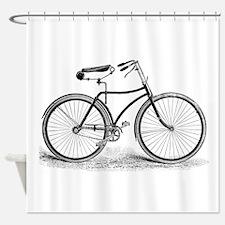 Vintagebicycle Shower Curtain