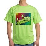 Yokohama Rooster and Hen Green T-Shirt