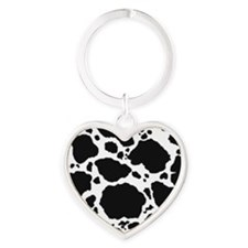 Cow Print Pattern Keychains