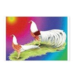 Yokohama Rooster and Hen Postcards (Package of 8)