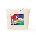 Yokohama Rooster and Hen Tote Bag