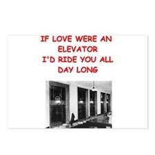 elevator Postcards (Package of 8)