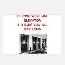 elevator Postcards (Package of 8)