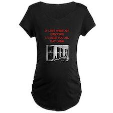 elevator Maternity T-Shirt