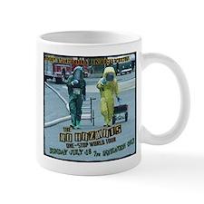 The MFI NO HAZMATS mug