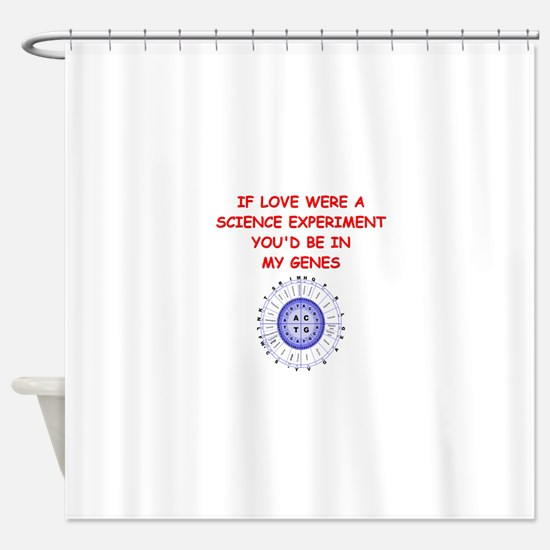 genes Shower Curtain