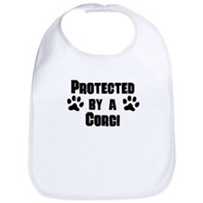 Protected By A Corgi Bib