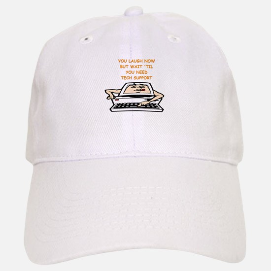 tech support Baseball Baseball Baseball Cap