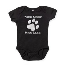 Purr More Hiss Less Baby Bodysuit