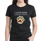 Dogs Women's Dark T-Shirt