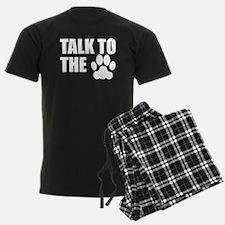 Talk To The Paw Pajamas
