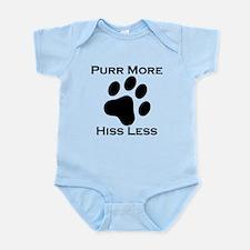 Purr More Hiss Less Body Suit