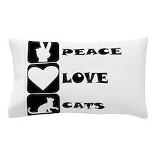 Peace Love Cats Pillow Case