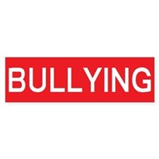 stop bullying Bumper Bumper Sticker