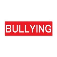 stop bullying Car Magnet 10 x 3