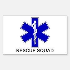 Bsl Rescue Squad Sticker (Rectangle 10 Pk)