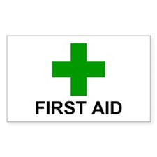 GC First Aid Decal