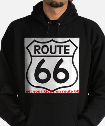 get your kicks on route 66 Hoodie