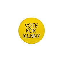 Vote For Kenny Mini Button